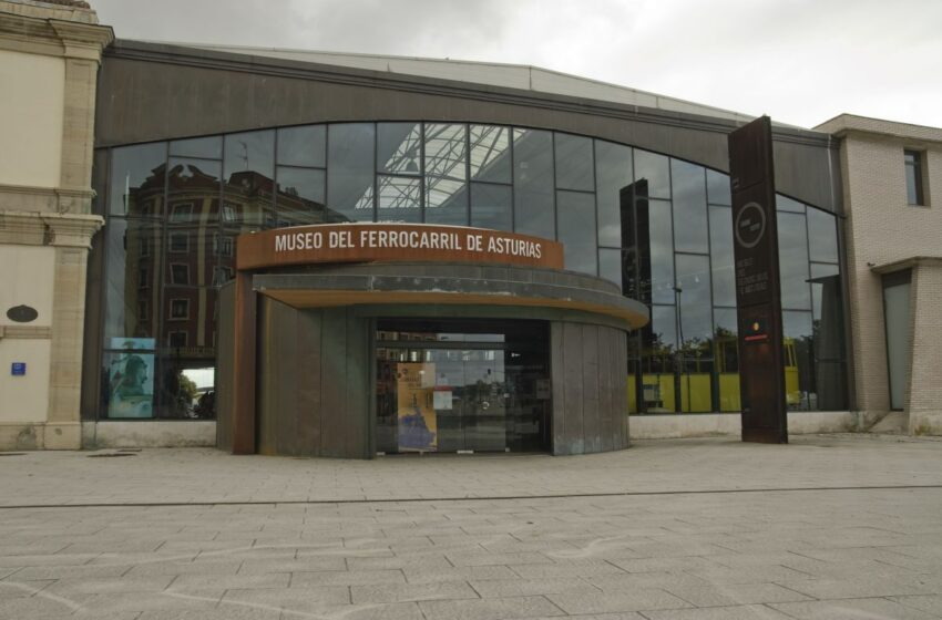 Gijón, visita al Museo del Ferrocarril de Asturias
