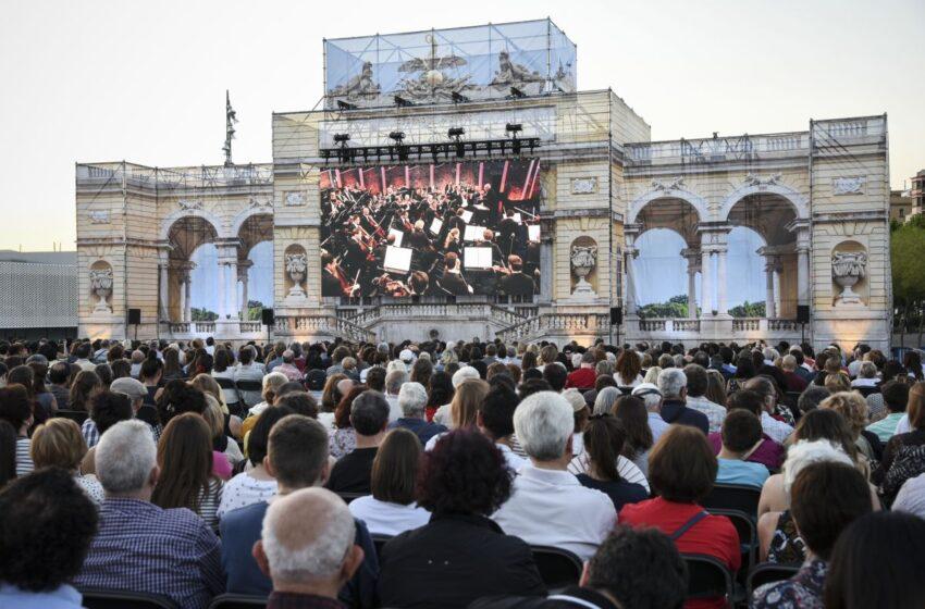 Barcelona al ritmo de Viena, retransmisión del Concierto de una Noche de verano
