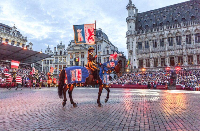 Un recorrido por Bruselas asistiendo al Ommegang