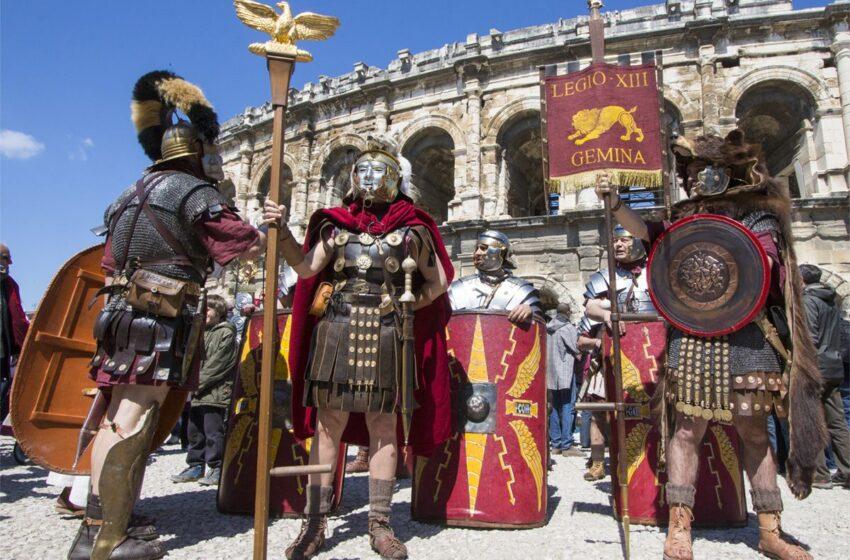 La gran reconstrucción histórica de los Juegos de la Romanidad en Nîmes