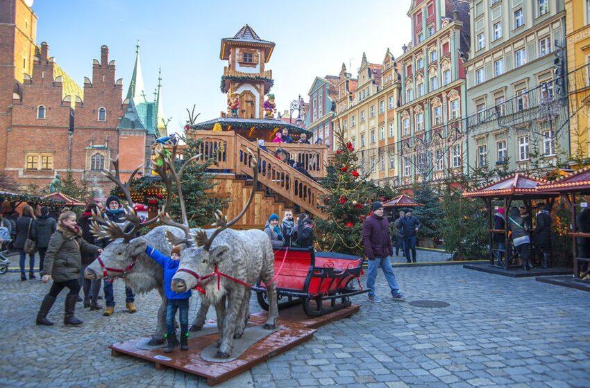 Mercadillo de Navidad de Breslavia en Polonia