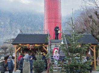 Mercado navideño St. Gilgen