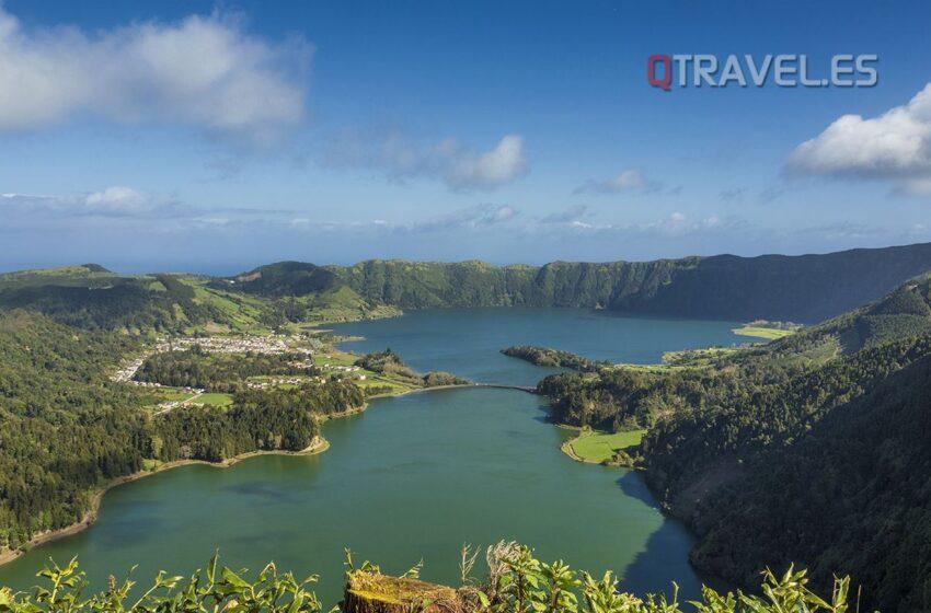 La Isla de San Miguel y su capital Ponta Delgada en Azores