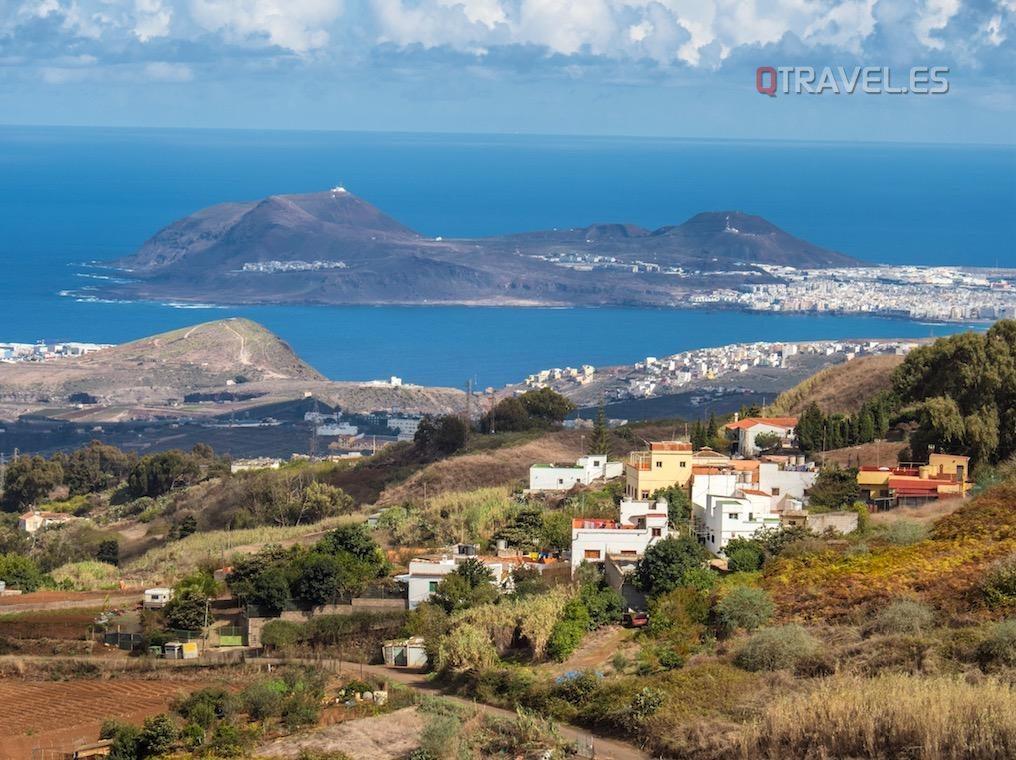 Gran Canaria - Panorámica de La Isleta en Las Palmas