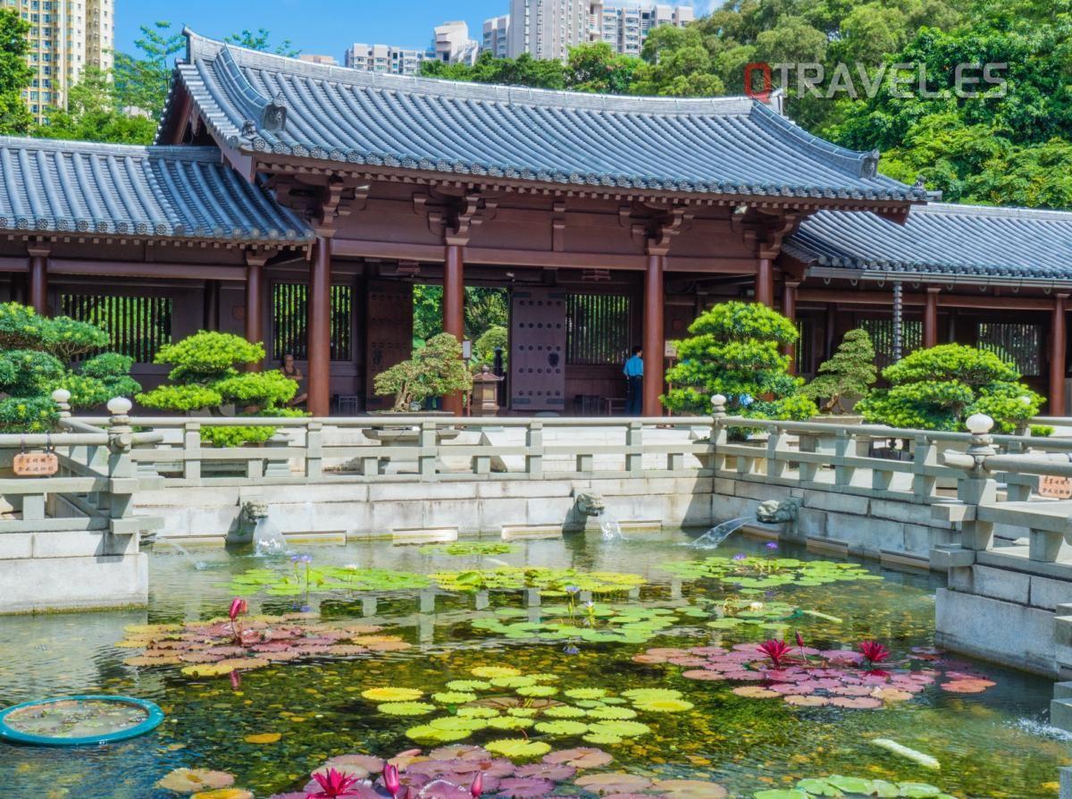 Hong Kong - Monasterio Chi Lin
