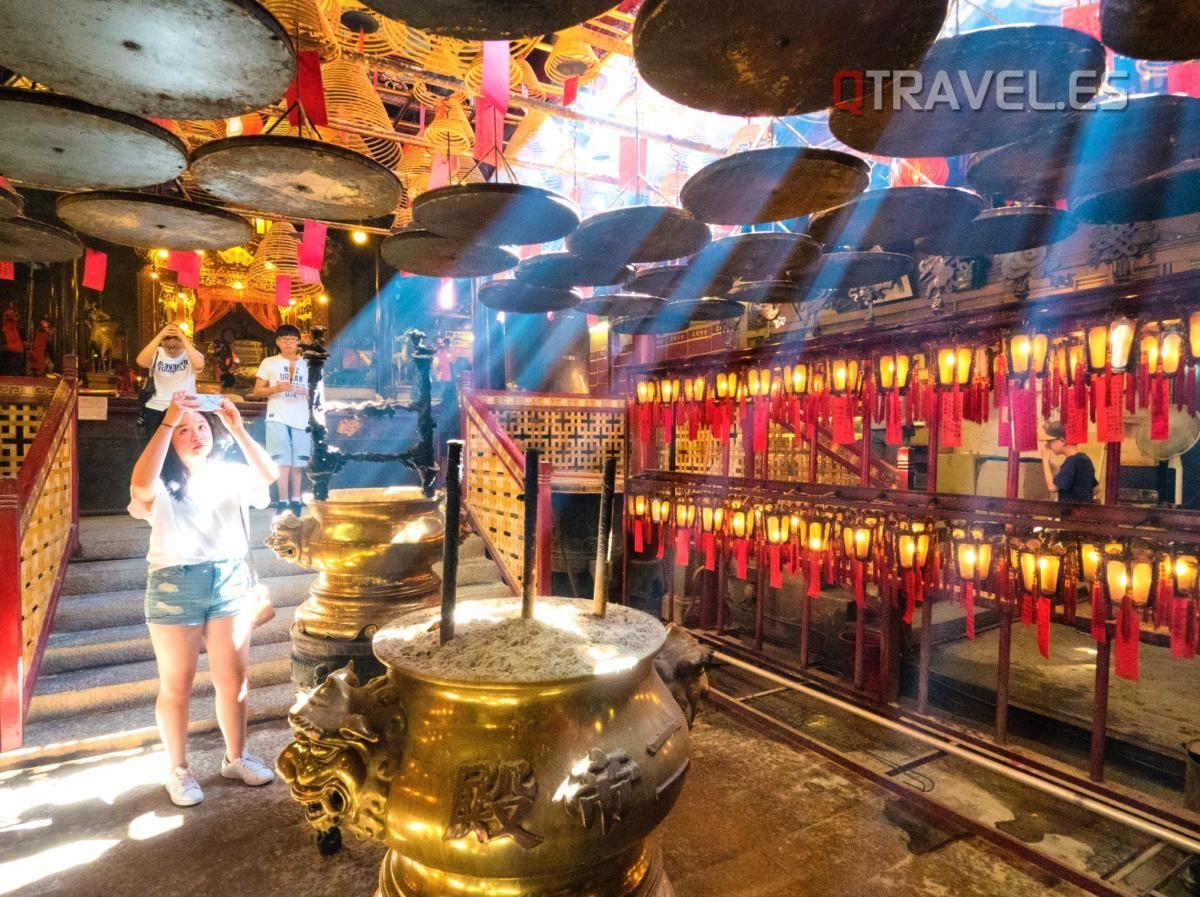 Hong Kong - Templo Man Mo