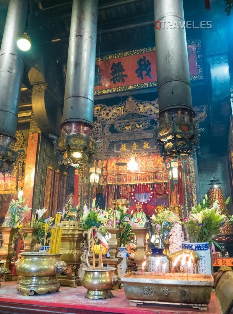 Hong Kong - Templo de Kwun Yam