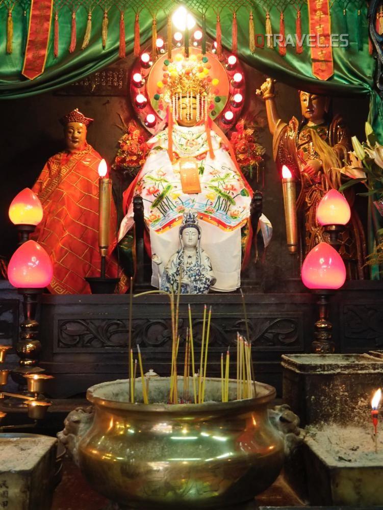 Hong Kong - Templo de Tin Hau
