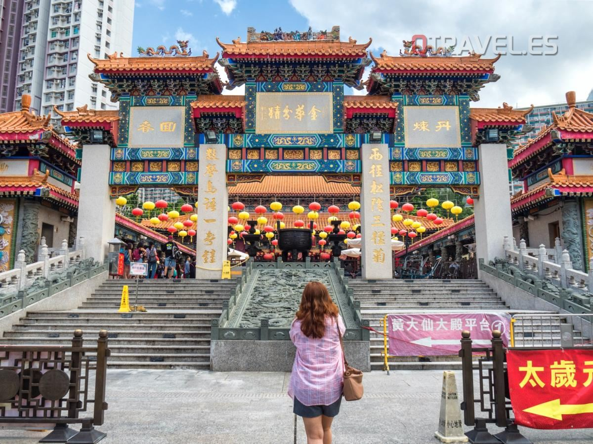 Hong Kong - Templo de Wong Tai Sin
