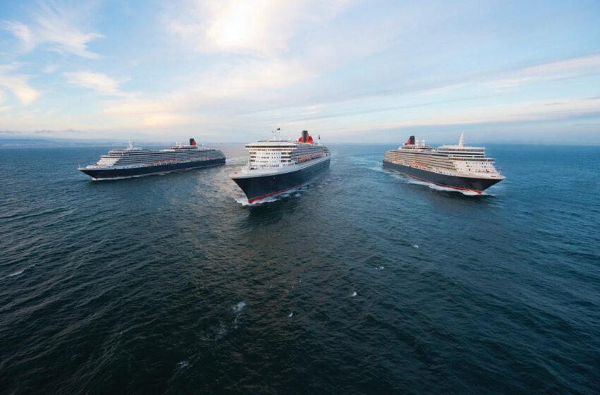 Las tres reinas de Cunard ya tienen destinos para 2020