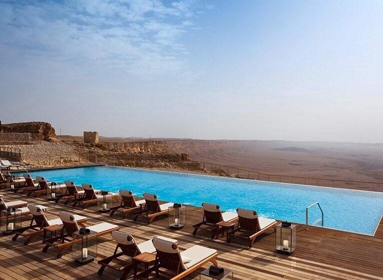 El Beresheet en Israel, el hotel con la mejor piscina del mundo