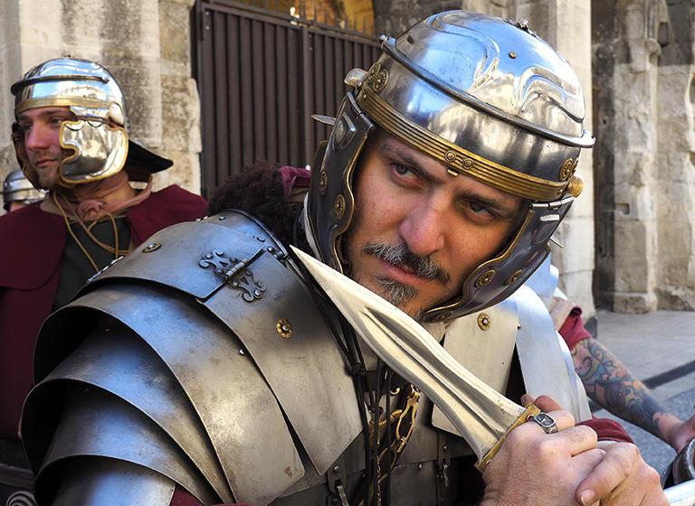Los Grandes Juegos de la Romanidad en Nîmes – Reina Boudica