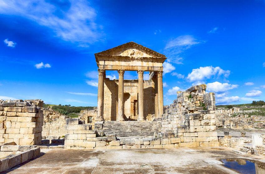 Dougga, la ciudad Romana mejor conservada de el Afríka Proconsularis