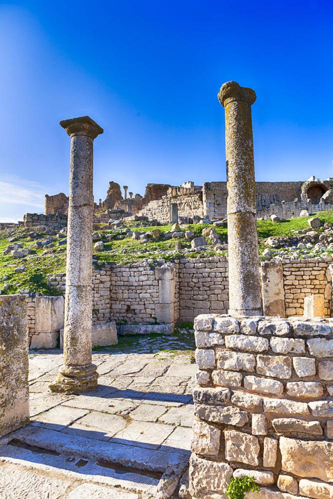 Columnas casa Gorgona