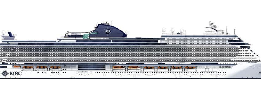 MSC Cruceros empieza la construcción del MSC Seashore