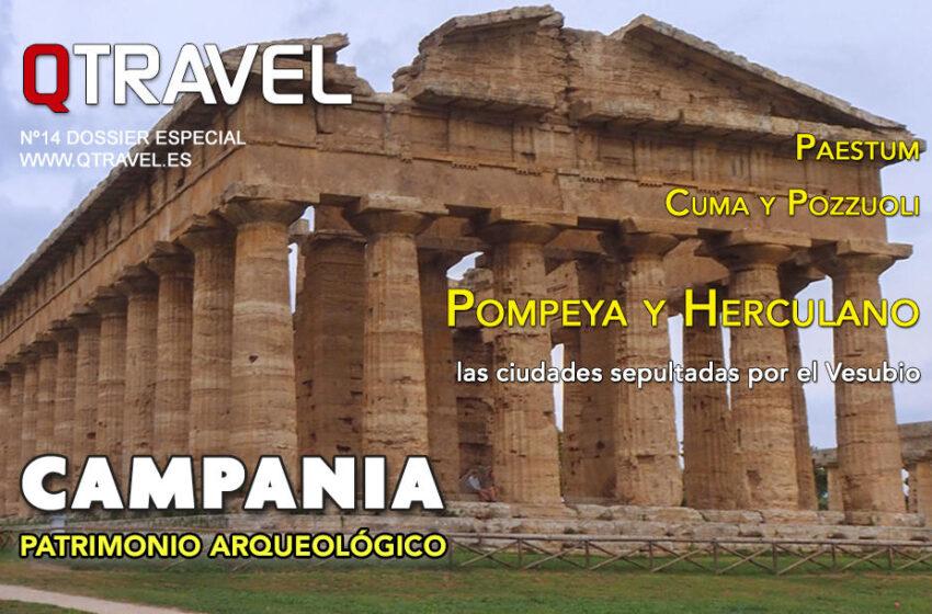Revista QTRAVEL Digital n.14 – Arqueología en Campania Italia