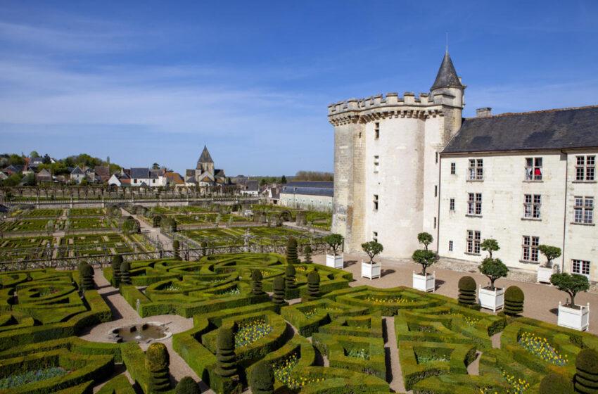 Castillos del Loira,  Villandry