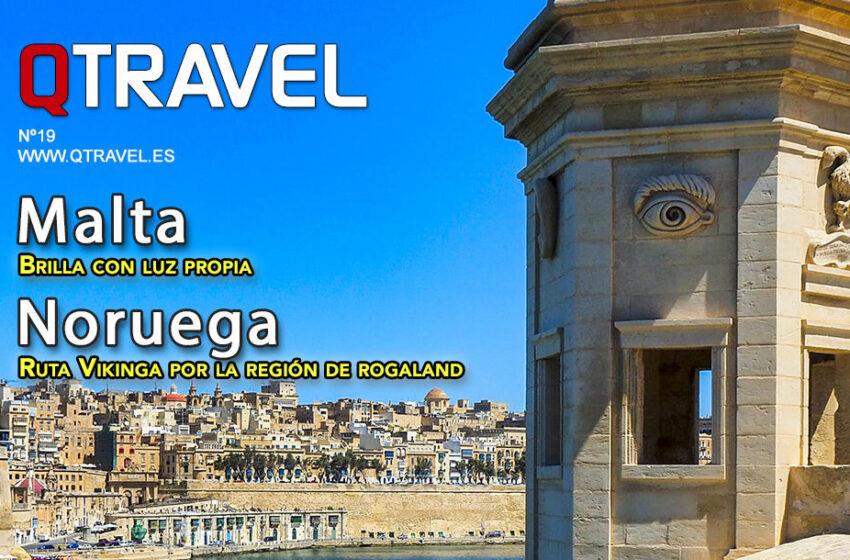 Revista QTRAVEL Digital n.19 – Noruega – Malta