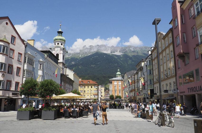 Innsbruck, la capital del Tirol austriaco