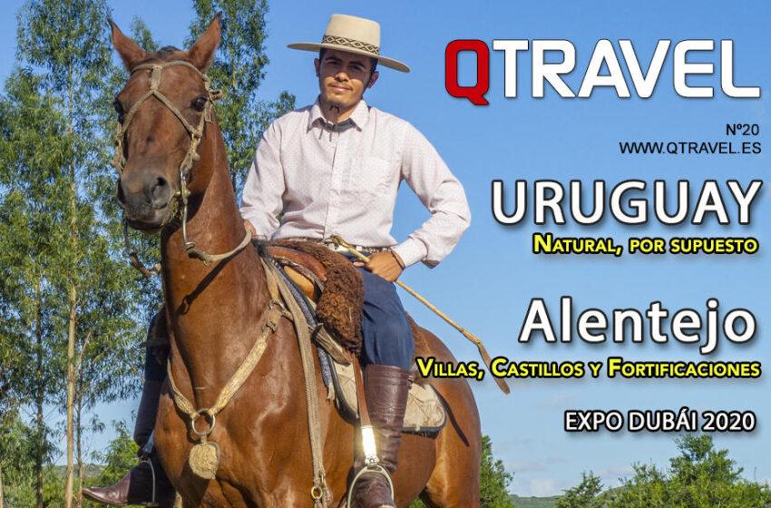 Revista QTRAVEL Digital n.20 – Uruguay – Alentejo – Expo Dubái 2020