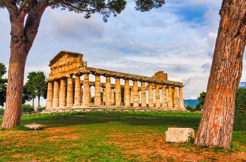 Paestum, la ciudad griega de los tres templos en Campania