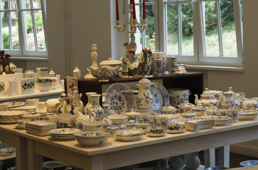 La porcelana de Meissen en Dresde