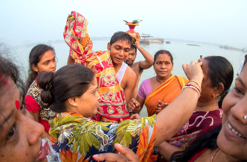 Calcuta y su festival Durga Puja en la India