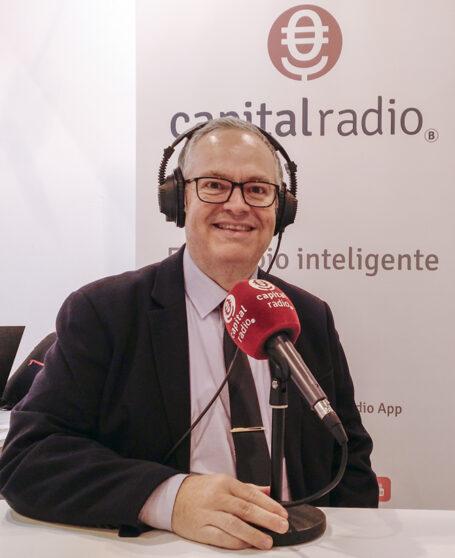 David Bigorra en el programa Miradas Viajeras de Capital Radio