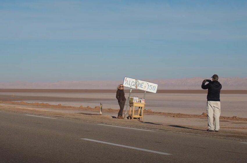 Chott Jerid, el gran lago salado de Túnez
