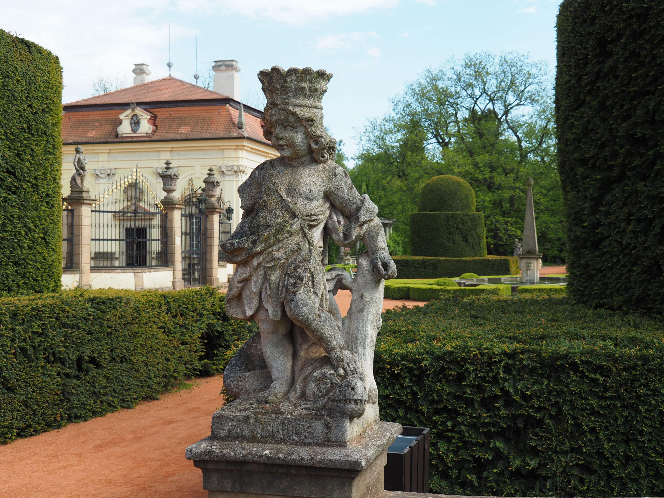 Palacio de Buchlovice escultura