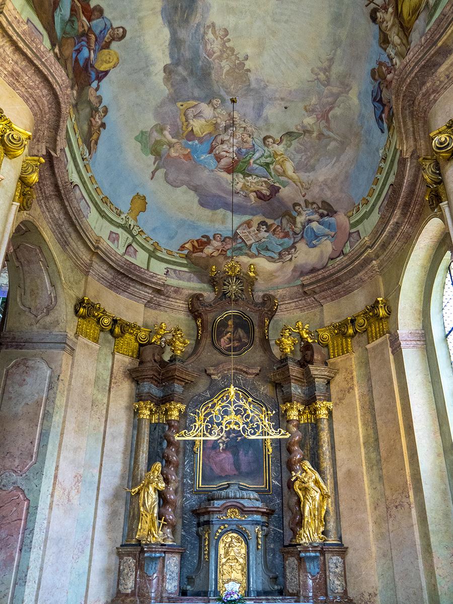 Interior de la Iglesia de San Nicolás