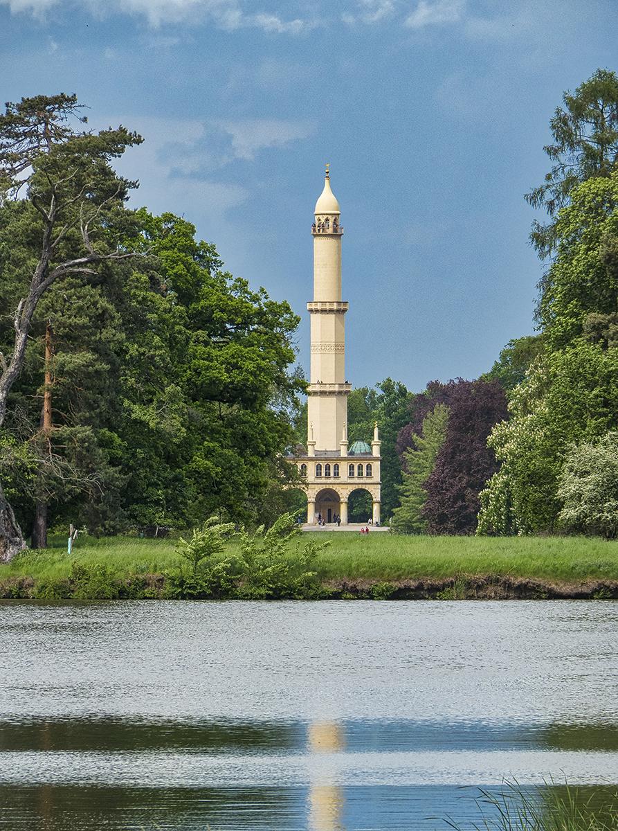 Minarete del parque de Lednice