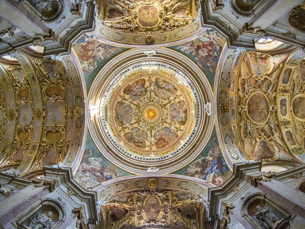 Olomouc interior de la Catedral