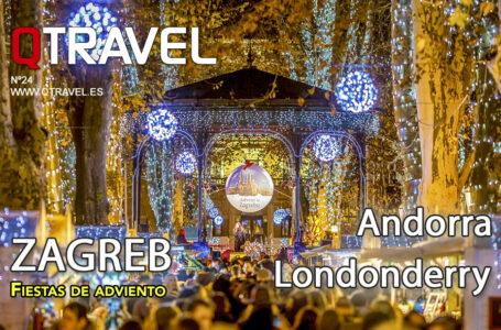 Revista QTRAVEL n.24 – Zagreb en adviento – Londonderry en Halloween – Andorra