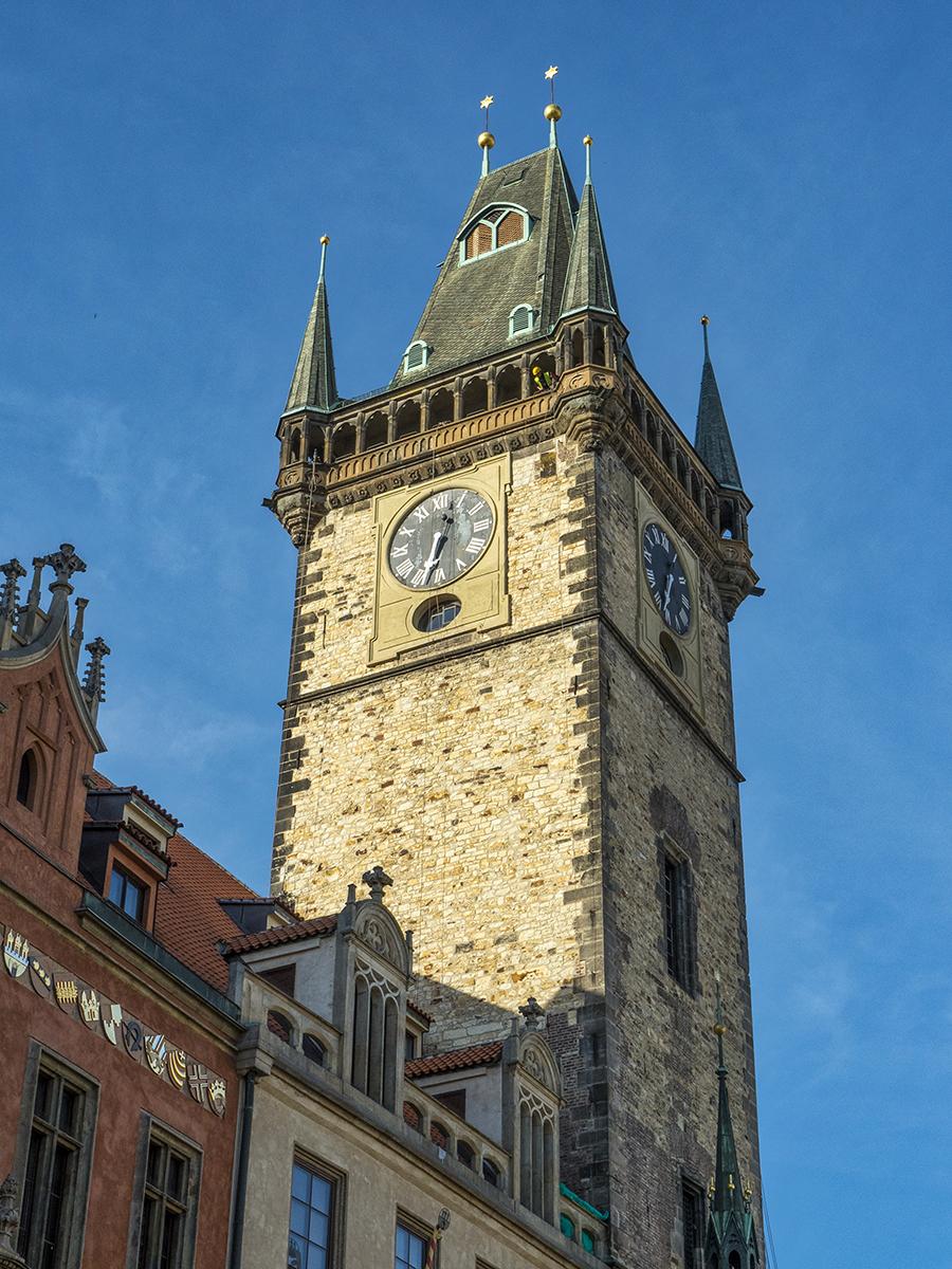 Torre del Ayuntamiento viejo de Praga