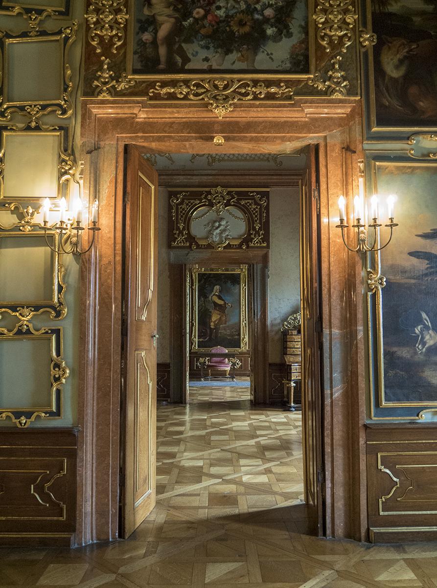 Interior del Castillo de Valtice