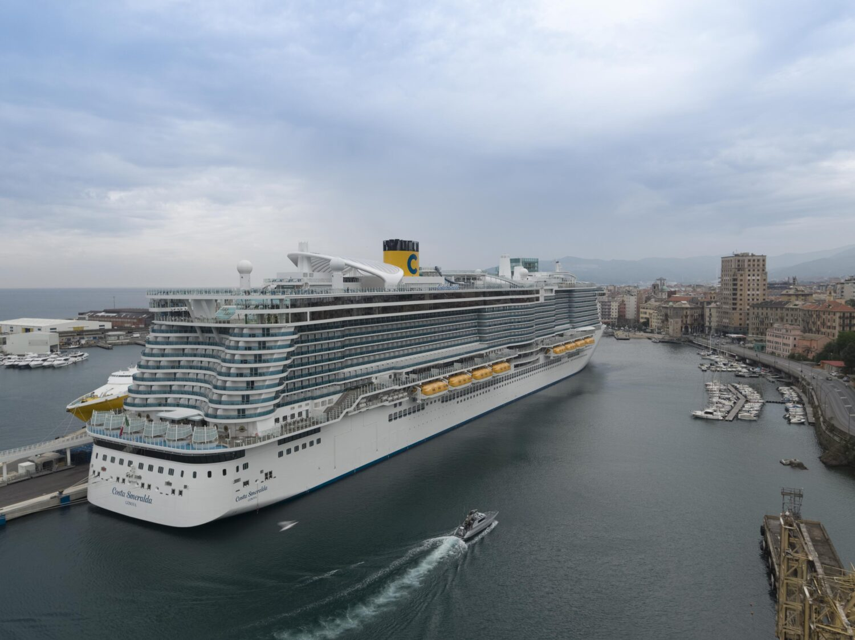 Costa Cruceros reanuda sus cruceros desde la ciudad italiana de Savona