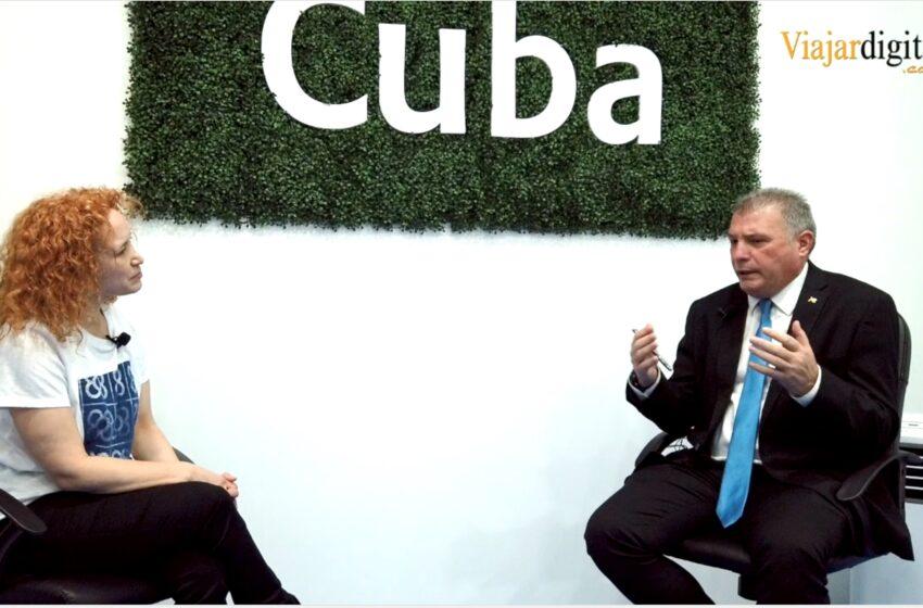 Entrevista a Juan Carlos García Granda, Ministro de Turismo en Cuba – FITUR 2021