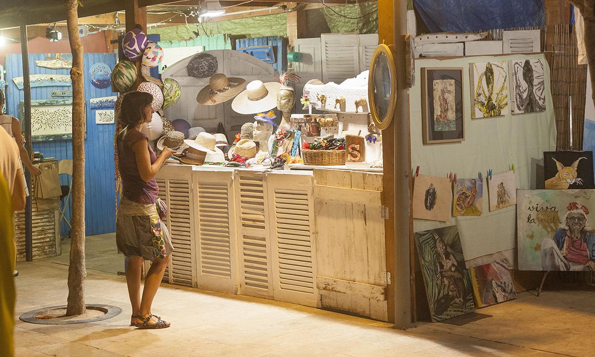 Mercat la savina en Formentera