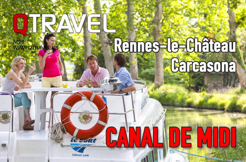 Canal de Midi en Francia visitando Carcasona y Rennes le Château