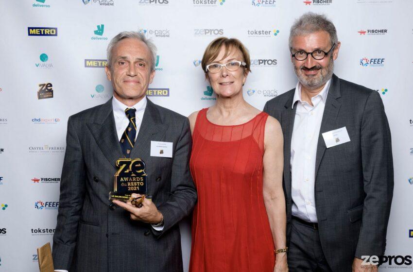 Les Grands Buffets  recibe en el Premio especial del jurado ZeAwards 2021 a los mejores restaurants de Francia